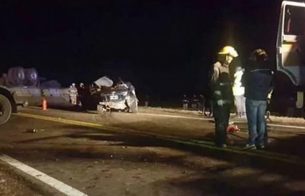 El fatal accidente sobre la ruta nacional Nº 8, ocurrió pasadas las 22 de ayer.