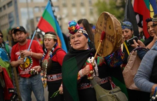 La comunidad mapuche se extiende a lo ancho de los dos países.