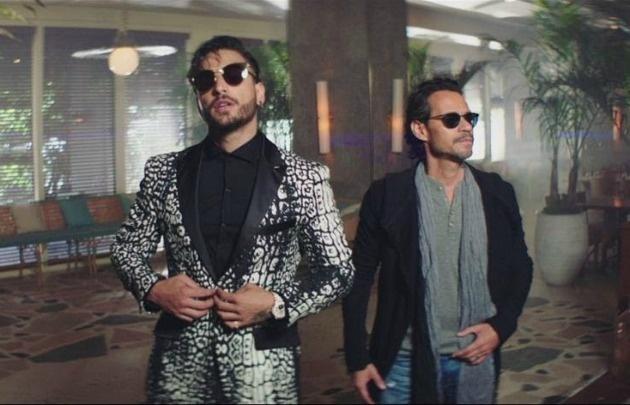 Marc Anthony, dos fuegos en un nuevo videoclip.