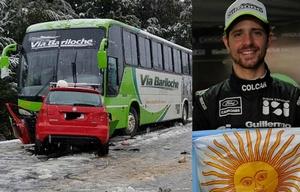 Mauro Giallombardo sufrió un grave accidente en Río Negro.