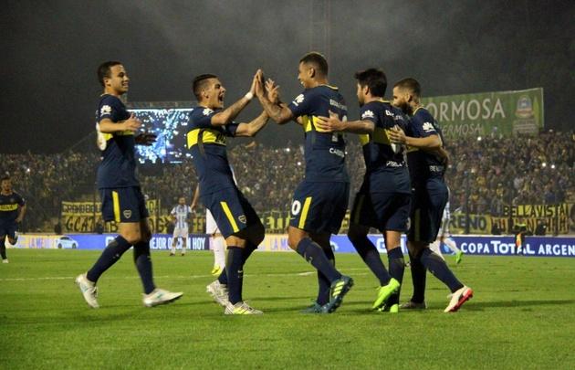 Boca aplastó a Gimnasia y Tiro y avanzó en la Copa Argentina.
