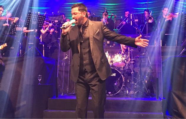 Jorge Rojas ofrece un concierto de lujo