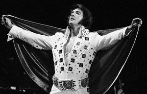 40 años sin Elvis Presley, ''el Rey del Rock''.