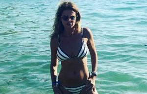 Flavia Palmiero, preciosa a los 51 años.