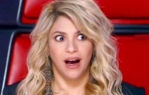 Shakira quedó impresionada con la imitación de un fan