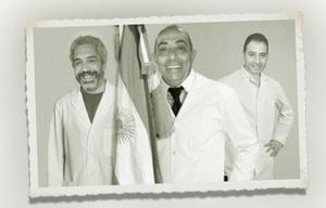 El Turco, Mario y Monti abanderados.