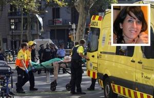 Érika Ruiz López trabaja a pocas cuadras del lugar del atentado.