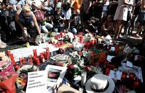 Barcelona llora a las víctimas fatales del atentado.
