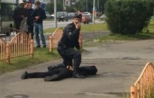 El agresor fue aniquilado por las fuerzas policiales.