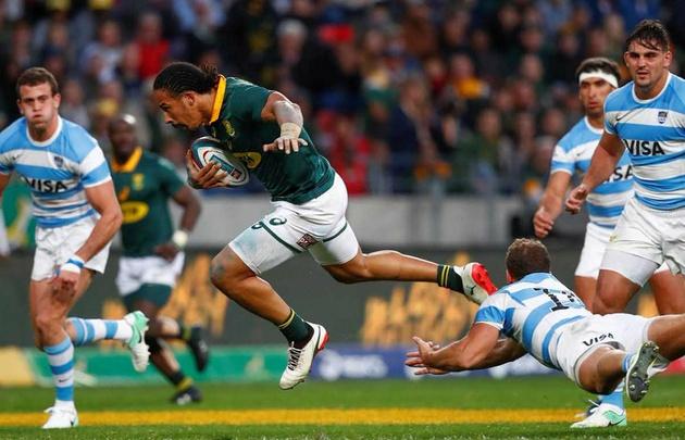 Los Pumas cayeron ante Sudáfrica.