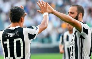 Dybala e Higuaín marcaron el triunfo del Juventus.