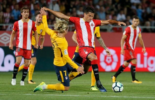 Atlético de Madrid y Girona no se sacaron ventajas.
