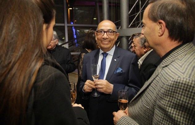 Mario Pereyra, en el homenaje de Maridarte.