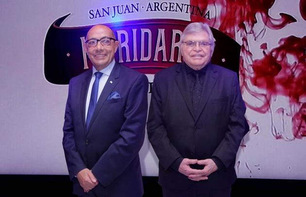 Mario Pereyra y Rony Vargas, en el Maridarte 2017.