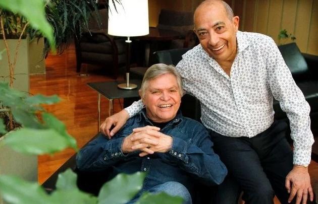 Rony Vargas y Mario Pereyra visitaron San Juan juntos tras 35 años (Diario de Cuyo).
