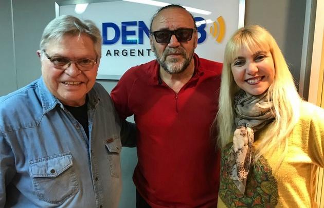 Cacho con Rony e Ivana en Viva la Radio