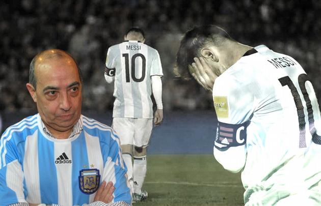 Mario criticó el rendimiento de la Selección.