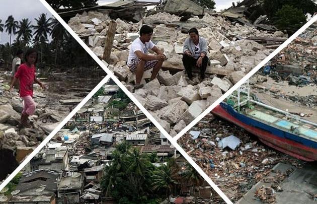 Los peores terremotos en el mundo en los últimos años.