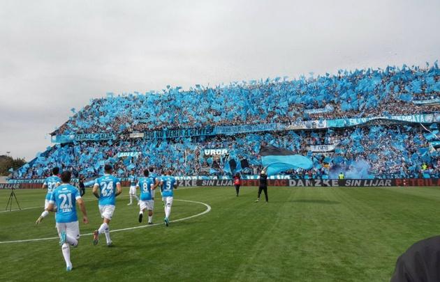 Belgrano, en la inauguración del nuevo Gigante de Alberdi