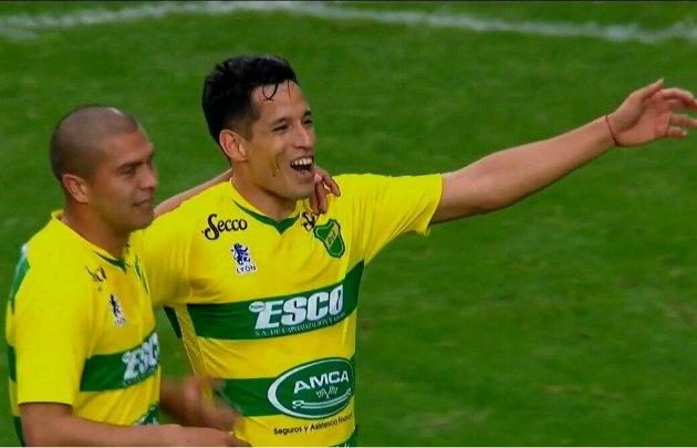 ''El Cuqui'' Márquez sigue dulce y marcó el gol del triunfo de Defensa y Justicia.