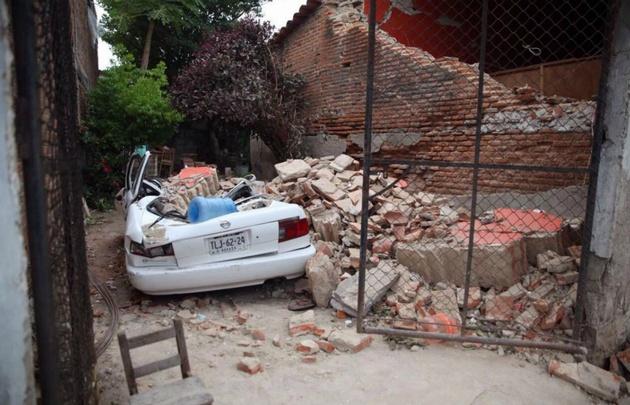 Oaxaca, el estado más golpeado por el terremoto en México.