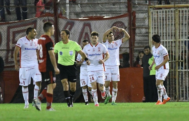 Con gol de Pussetto, Huracán venció a ''La Lepra'' en el Ducó.