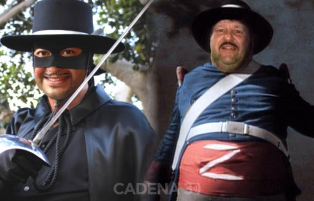 Monti y Corradini, como El Zorro y el Sargento García.