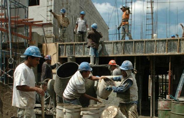 La construcción creció 25,3% en octubre.