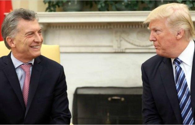 Trump invitó a Macri para analizar la situación venezolana (Foto: Archivo)