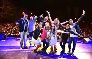 El equipo de FM Córdoba animó la gran fiesta de la primavera.