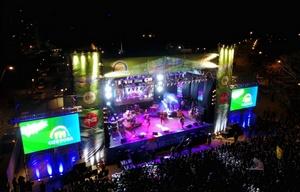 Más de 20 mil personas en la fiesta de la primavera dela FM Córdoba.