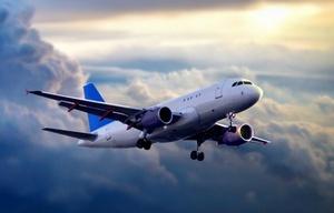 El avión se pudo haber chocado con otro (Foto ilustrativa)