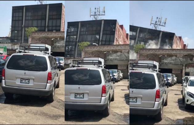 Dramático: México fue sacudido por otro potente terremoto.