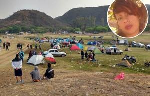 Más de 1.600 personas pasaron la noche en el camping El Préstamo.