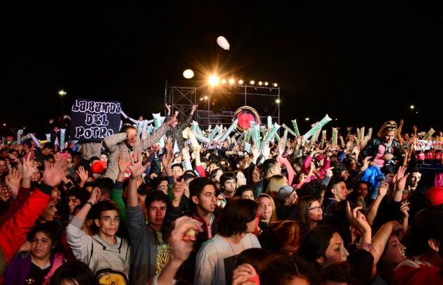 Fiesta de la primavera en Carlos Paz 2017. Chipote