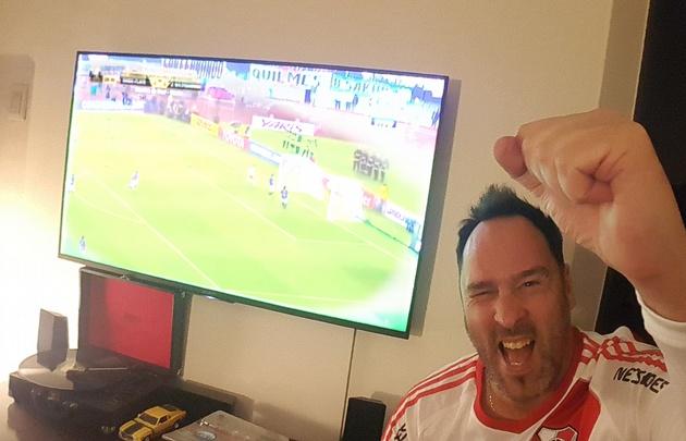 River 8 - Wilstermann 0. Impensado hasta para el más fana millonario.