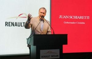 Inauguración de planta Nissan con el gobernador Schiaretti