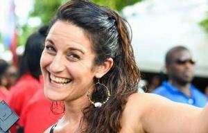 Florencia Suárez del Mestre perdió contacto con su familia tras el paso del huracán.