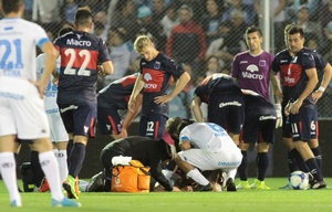 Carlos Rodríguez sufrió fractura de pómulo.