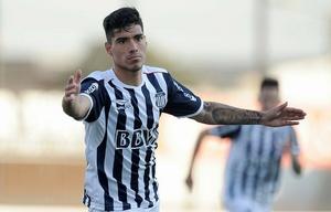 Lucas Olaza marcó el gol del triunfo de Talleres.
