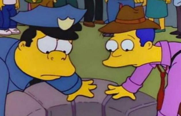 Bart engaña a todo Springfield haciéndose pasar por un chico atrapado en un pozo.