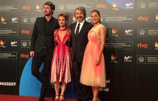 Ricardo Darín recibió el premio Donostia en San Sebastián