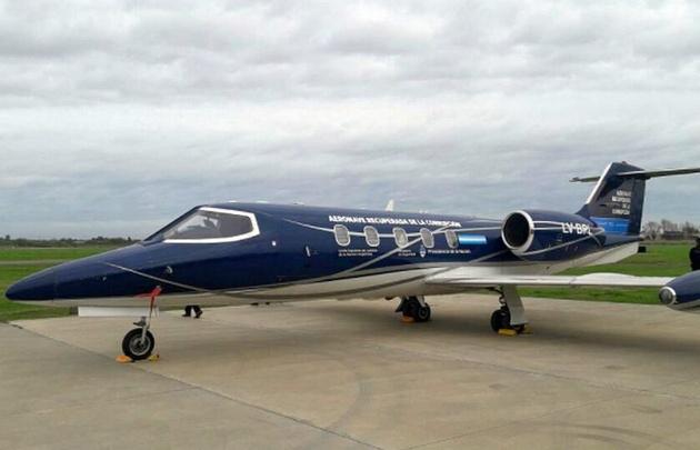 """El avión matrícula LV-BPL se utilizará para """"combatir el crimen organizado""""."""