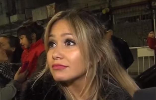 Karina se enteró del accidente del Kun por un periodista.