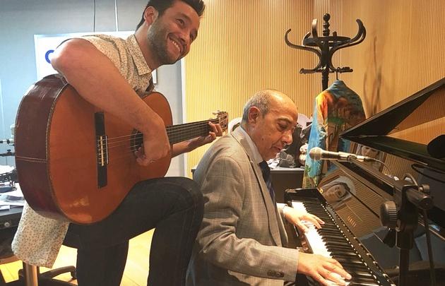 Luciano Pereyra presenta en Juntos su nuevo disco.