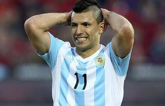 ''El Kun'' Agüero se perderá las dos últimas fechas FIFA.