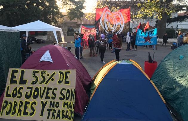 Se levantó el corte de calle avenida Vélez Sarsfield al 2300.
