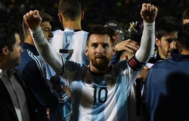 Messi, artífice de la clasificación argentina al Mundial.