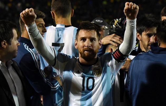 El astro rosarino se sacó de la espalda el peso de 40 millones de argentinos.