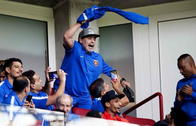 Diego se expresó en sus redes sociales, en donde suma más de 1 millón de seguidores.